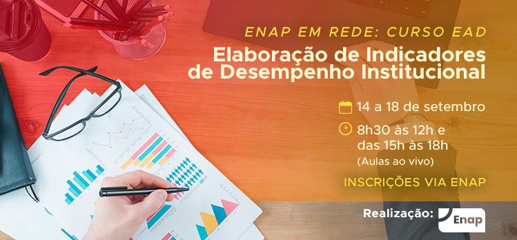 Enap oferta curso sobre elaboração de indicadores de Desempenho Institucional