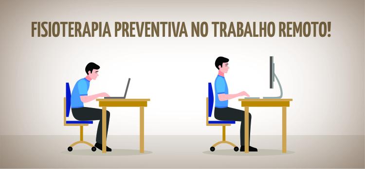 Educação postural no trabalho remoto