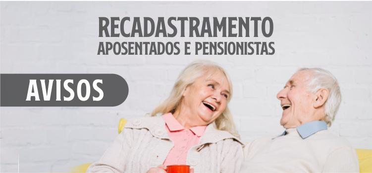 Prova de Vida de servidores aposentados e pensionistas é suspensa até 31 de maio
