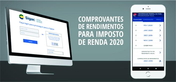 Sigepe disponibiliza comprovantes de rendimentos para a Declaração Anual do Imposto de Renda