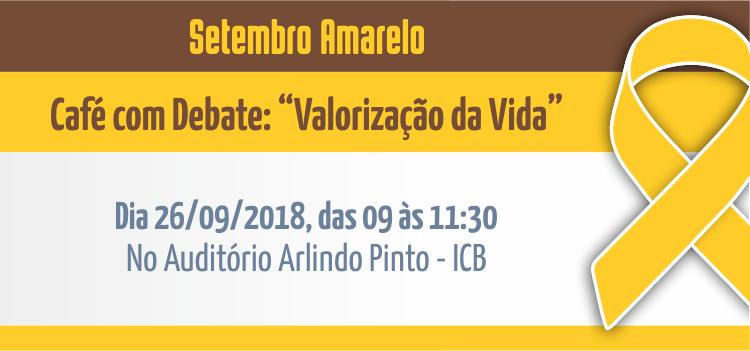 Setembro Amarelo será debatido em programação especial